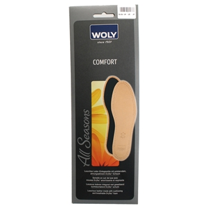 Woly Comfort Leather Insole Size 4 E37