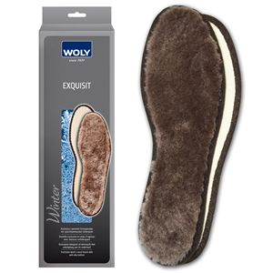 Woly Exquisit Lambs Wool Insole Gents Size 12