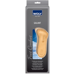 Woly Galant Leather Foot Support Ladies Size 4
