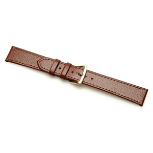 Birch Leather Watchstraps Buffalo Grain Brown 12mm Code