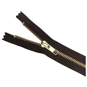 """41cm ** 16/"""" Light Navy Blue Brass Open End Zip"""
