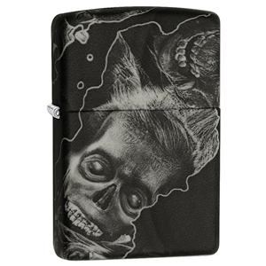 Zippo Lighter, Softouch Zombie