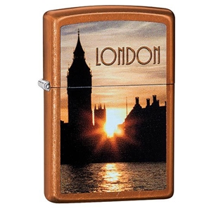 Zippo Lighter Toffee Big Ben ( London At Night)