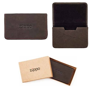 Zippo Leather, Business Card Holder, Mocca, 2005141